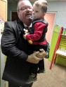 PASTOR LEE AND HIS GRANDSON BRANTLEY